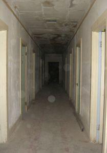 spooky hollow hallway