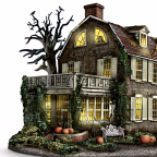 Creepy Collectors Rejoice: An Illuminated Amityville Horror House Replica Can Now Be Yours…