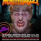 Monsters Rule at Pasadena's MONSTERPALOOZA Convention, April 22-24.