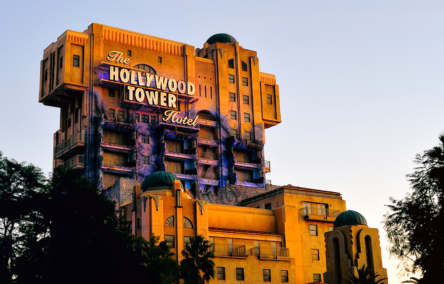 Image result for the twilight zone tower of terror disneyland california