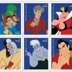 Disney villains are getting their own postage stamps